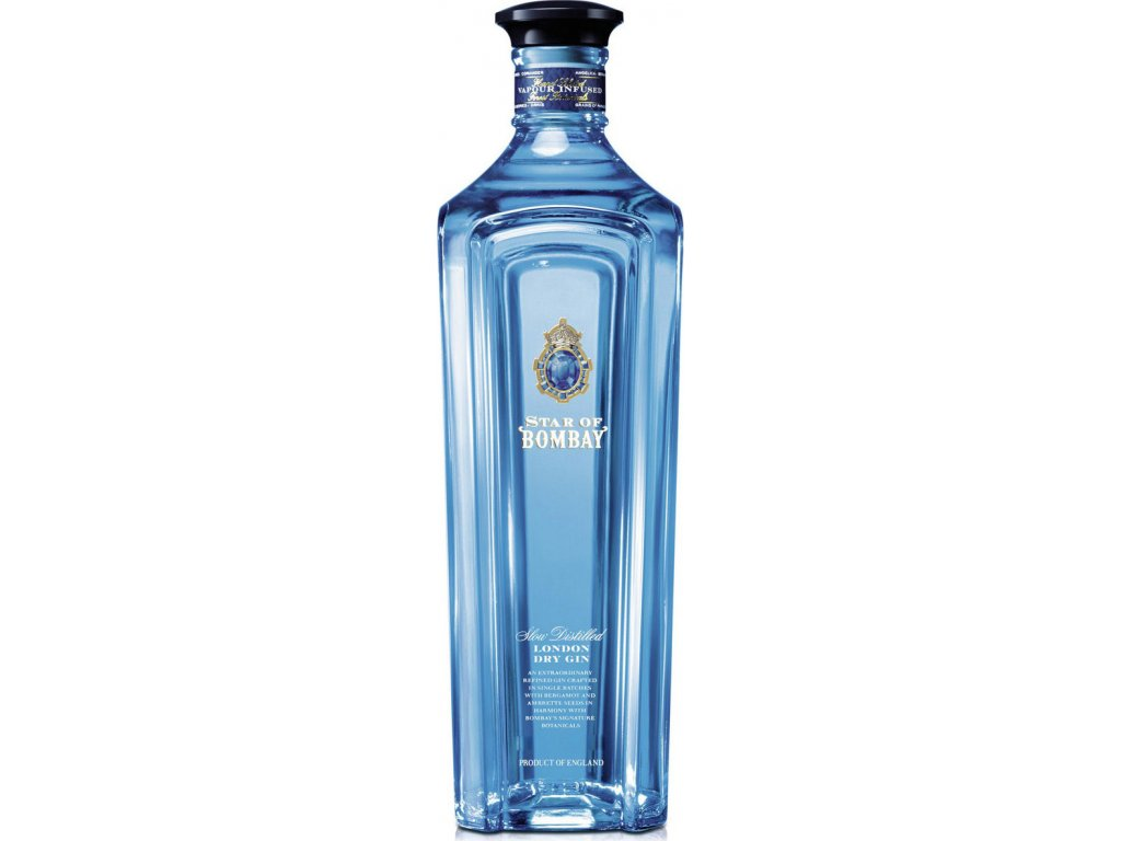 Star of Bombay London dry gin 47,5%, gin 0,7L