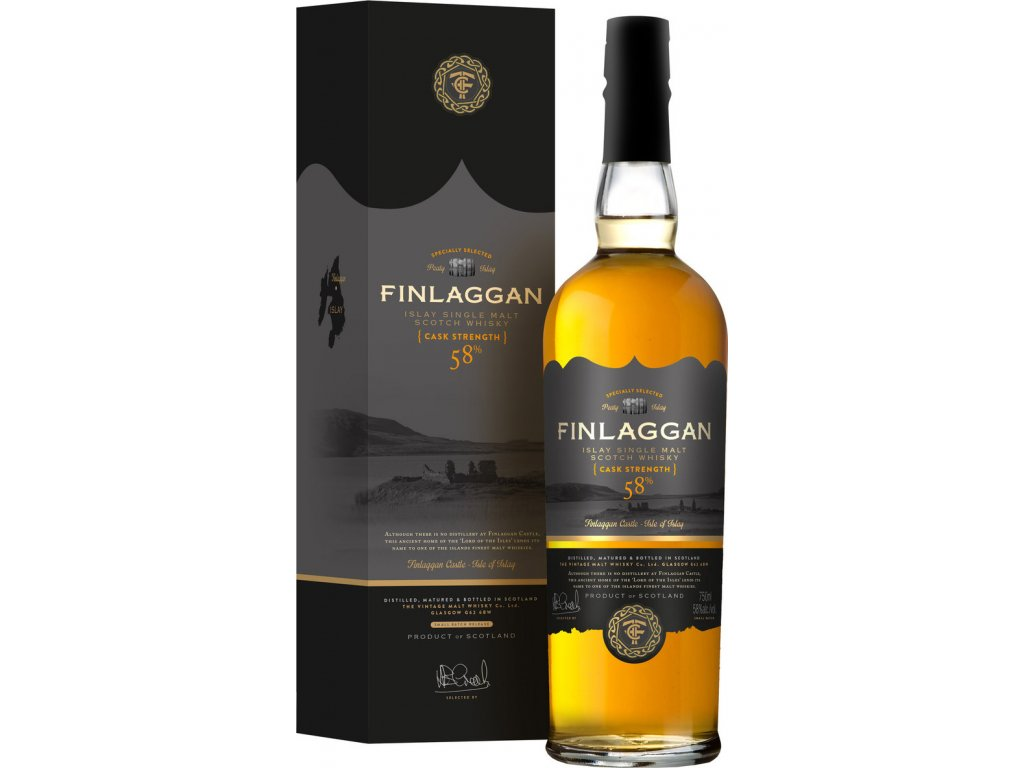 Finlaggan Original Peaty Cask Strength