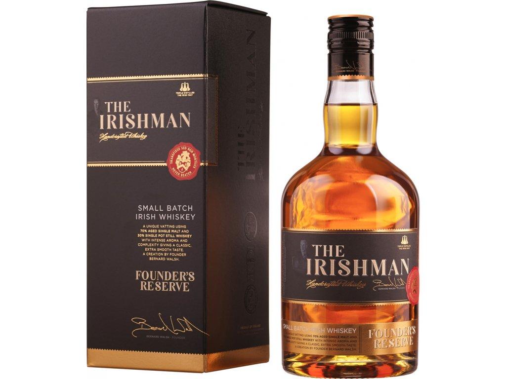 The Irishman Founder´s Reserve 40% 0,7L