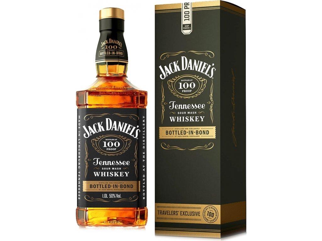 Jack Daniels 100 Proof Bottled in Bond 50% 1,0L