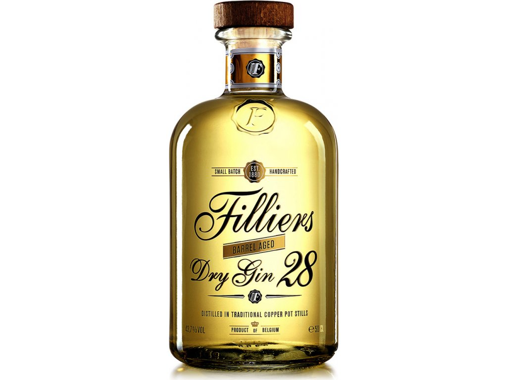 Filliers 28 Barrel aged dry 43,7%, gin 0,5L