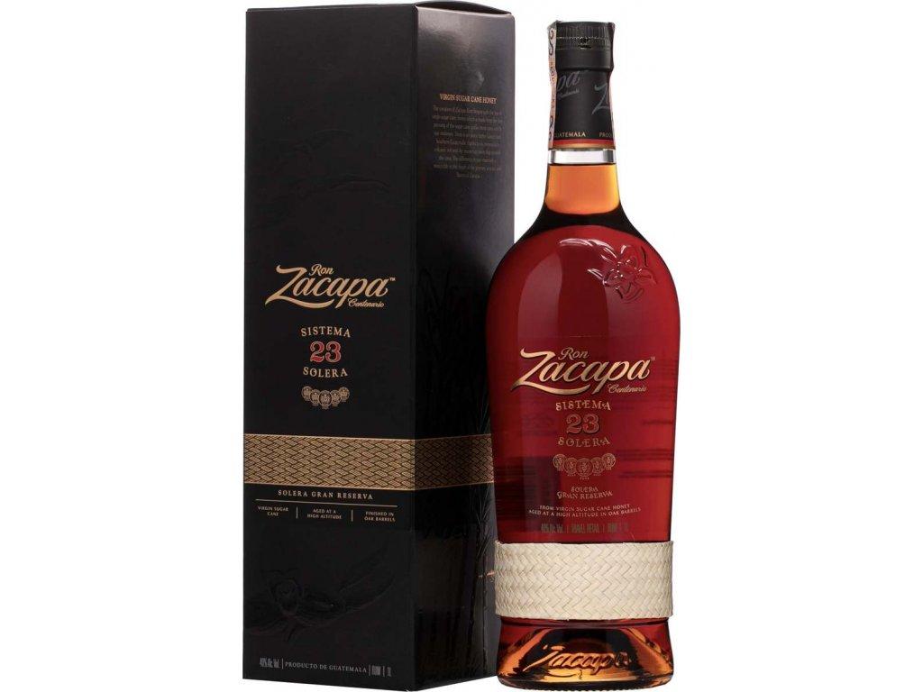 Zacapa Centenario Solera 23 40%, rum, v tube 1L