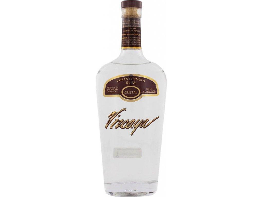 Vizcaya Rum Cristal Light 40%, rum 0,7L