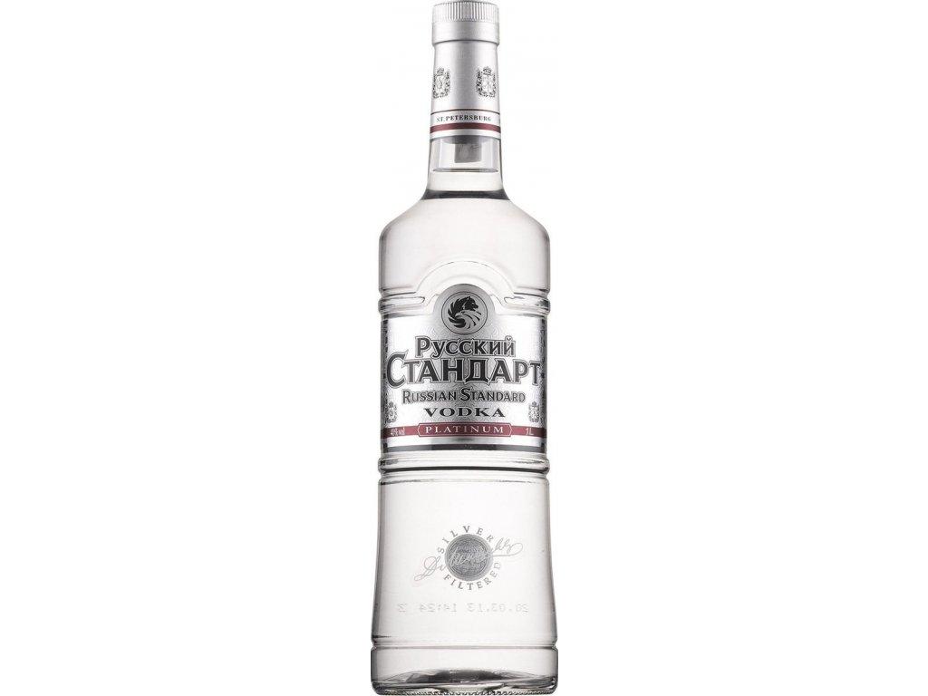 Russian Standard Platinum 40%, vodka 1L