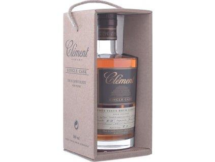 Clément Single Cask 41,5%, rum, darčekové balenie 0,5L
