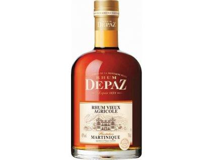 Depaz rhum Martinique Vieux plantation 45%, rum 0,7L