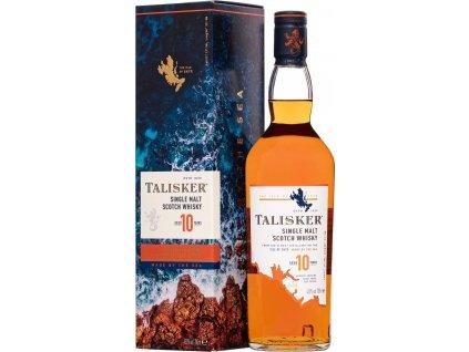 Talisker Scotch 10 Y.O. 45,8%, whisky, darčekové balenie 0,7L