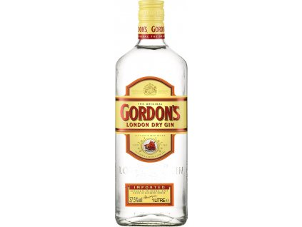 Gordon´s London Dry Gin 37,5% 1,0L