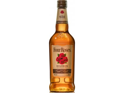 Four Roses Bourbon 40%, whisky 0,7L