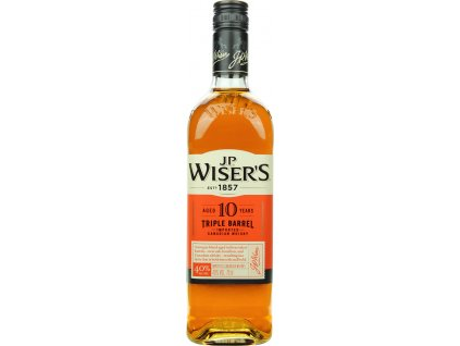 J.P. Wiser's Triple Barrel 10 Y.O.
