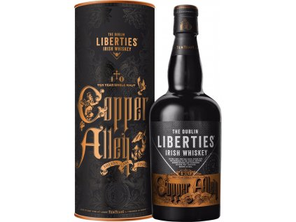 The Dublin Liberties Copper Alley 10 Y.O. Sherry Cask Finish