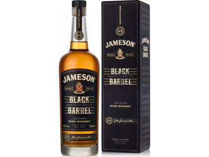 Jameson Black Barrel 40%, whisky, darčekové balenie 0,7L