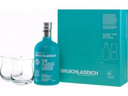 Bruichladdich The Classic Laddie s 2 pohármi