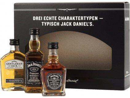 Jack Daniel's Mini Set 3x0,05l