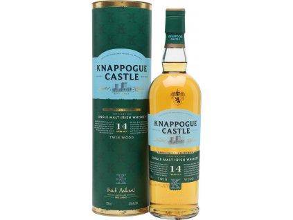 Knappogue Castle 14 Y.O. Irish 46,0%, whisky, darčekové balenie 0,7L