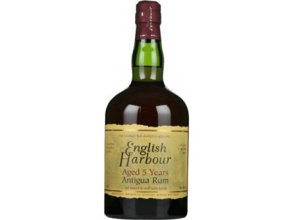 English Harbour 5 Y.O. 40%, rum 0,7L