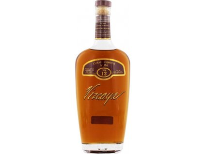 Vizcaya Rum Cask Nr. 12 Dark 40%, rum 0,7L