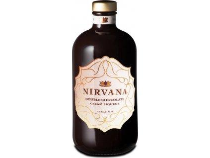 Nirvana Double Chocolate Liqueur Premium 15%, likér 0,5L