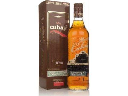 Ron Cubay Reserva Special, 10 year, rum, darčekové balenie 0,7L