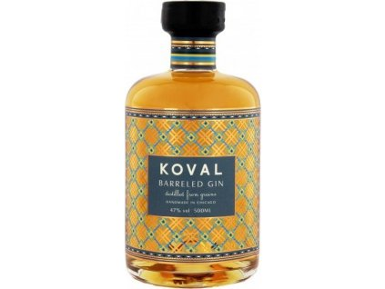 Koval Barreled 47%, gin 0,5L