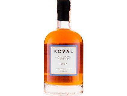 Koval Millet Whiskey 40%, whisky 0,5L