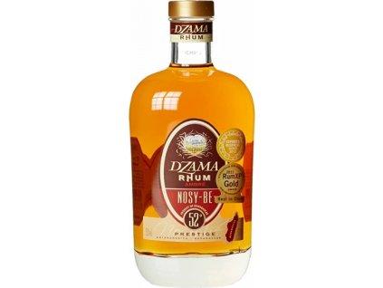 Dzama Rhum Ambré Nosy-Be Prestige 52%, rum 0,7L