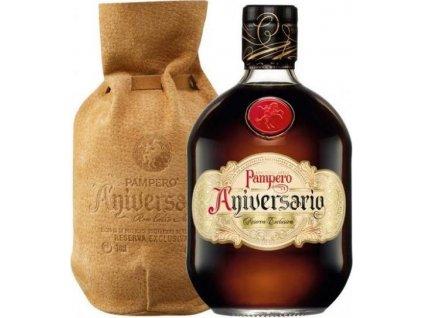 Pampero Aniversario Reserva v koži 40%, rum, darčekové balenie 0,7L