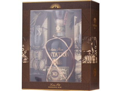 Plantation XO 20th Anniversary s 2 pohármi