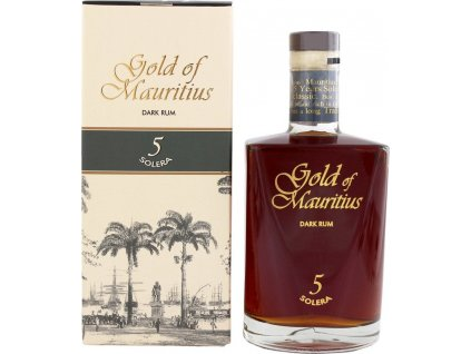 Gold of Mauritius Dark Rum 5 Solera