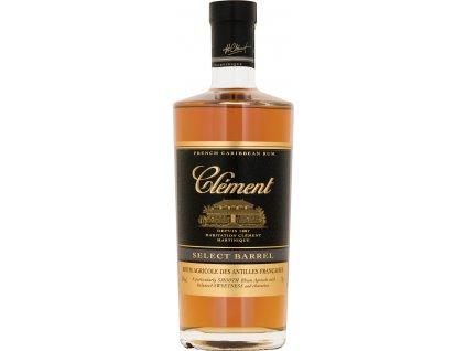Clément Select Barrel 40%, rum 0,7L