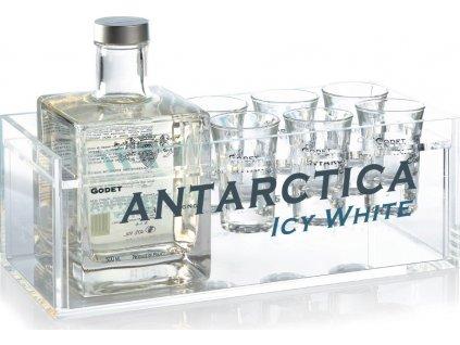 Godet Antarctica + 6 pohárov