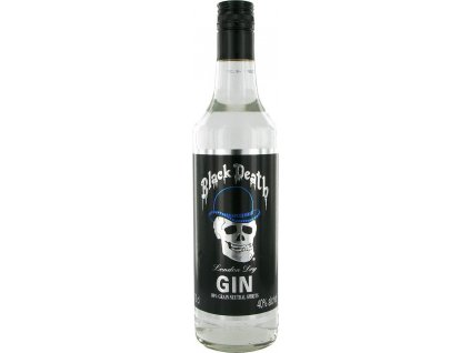 Black Death London dry 40%, gin 0,7L