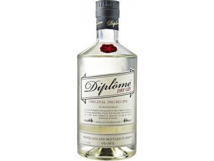 Diplôme dry 44%, gin 0,7L