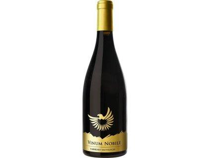VINUM NOBILE Cabernet Sauvignon, Malokarpatská oblasť, r2012, víno s prívlastkom-výber z hrozna, červené, suché 0,75L