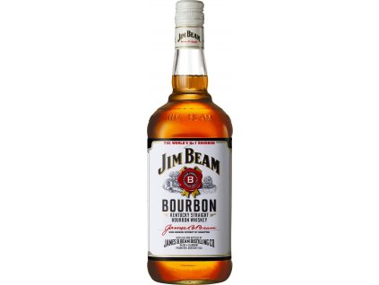 Jim Beam Bourbon whisky 40%, whisky 1L