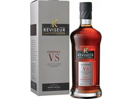 Reviseur Cognac VS 40%, koňak, darčekové balenie 0,7L