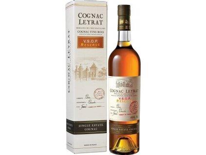 Leyrat Cognac VSOP Premium 40%, koňak, darčekové balenie 0,7L