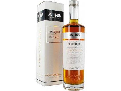 ABK6 Cognac VS Pure Single 40%, koňak, darčekové balenie 0,7L