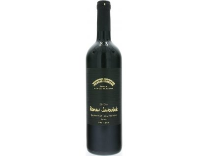 Šimák Zámok Pezinok Edícia Roman Janoušek Cabernet Sauvignon, Južnoslovenská oblasť, r2016, akostné víno, červené, suché 0,75L