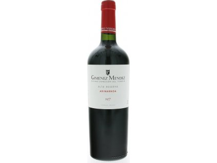 Giménez Méndez Alta Reserva Arinarnoa, Las Brujas, r2017, víno, červené, suché 0,75L