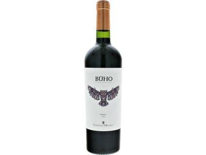 Giménez Méndez BUHO Microvinificaciones Tannat, Las Brujas, r2015, víno, červené, suché 0,75L