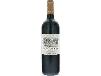 Bordeaux Château Saint Pierre, AOC, Grand Cru Classé, ST.-JULIEN AOC, r2014, víno, červené, suché 0,75L