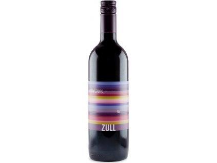 Zull Lust & Laune Rot, PDO, Weinviertel, r2015, víno, červené, suché 0,75L