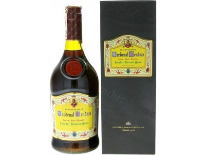 Cardenal Mendoza Solera Gran Reserva 40%, brandy de Jerez, darčekové balenie 0,7L