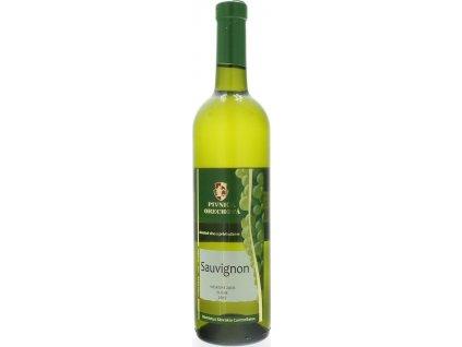 Pivnica Orechová Sauvignon, Východoslovenská oblasť, r2017, víno s prívlastkom-neskorý zber, biele, suché 0,75L