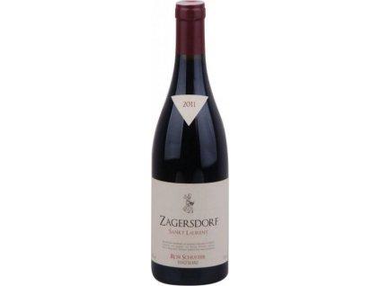 Rosi Schuster Sankt Laurent Zagersdorf, PDO, Burgenland, r2011, víno, červené, suché 0,75L