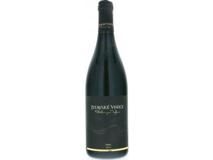 Žitavské vinice Hron barrique, Nitrianska oblasť, r2016, akostné víno, červené, suché 0,75L