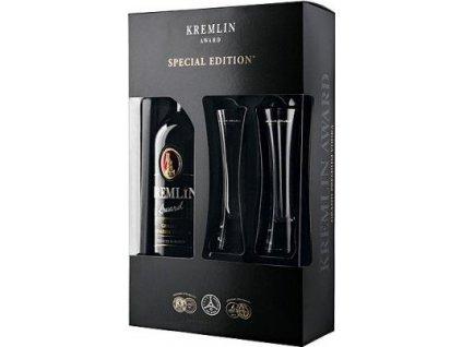 Kremlin Award + dva poháre 40%, vodka, darčekové balenie 0,7L