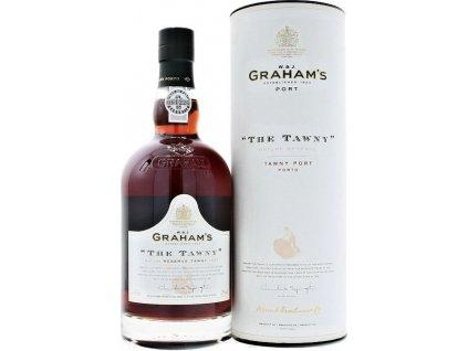 Graham's The Tawny Reserve Port, Porto e Douro, fortifikované víno, červené, sladké, darčekové balenie 0,75L