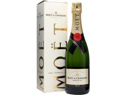 Moët & Chandon Brut Impérial, AOC, Champagne, šampanské, biele, brut, darčekové balenie 0,75L
